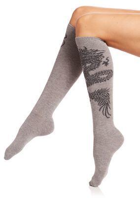 knee highs dragon knee socks knee socks Dragon socks