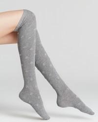 Kate Spade New York Fluffy Spots Knee High Socks