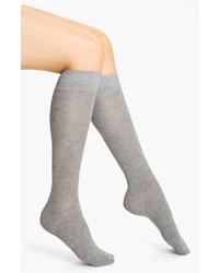 Nordstrom Heathered Knee High Socks Grey Hthr 911