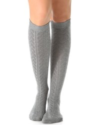 Striggings cable knit knee high socks medium 124111