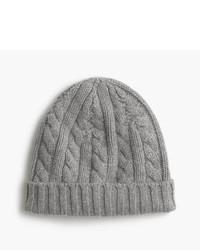 J.Crew Cashmere Cable Knit Beanie Hat
