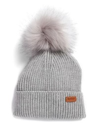 Barbour Dove Pom Beanie
