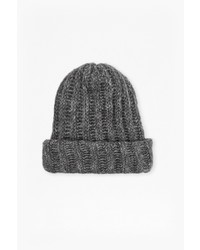 French Connection Chunky Knit Tuffy Beanie Hat