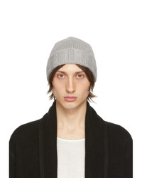 The Elder Statesman Grey Fisher Bob Beanie