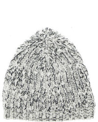 Marc Jacobs Grey Knitted Beanie