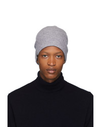 Mackage Grey Wool And Cashmere Tazio R Beanie