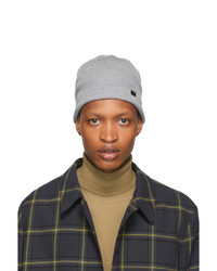 Paul Smith Grey Wool Beanie