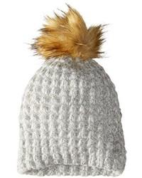 La Fiorentina Knit Beanie With Pom