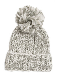 Madison 88 Marled Pom Pom Knit Beanie