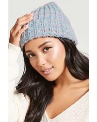Forever 21 Marled Knit Foldover Beanie