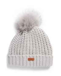 Barbour Saltburn Beanie With Faux