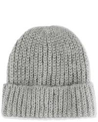 Topshop Knit Beanie Grey