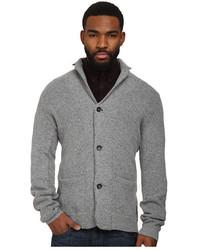 Ben Sherman Bonded Knitted Blazer Sweater Me10743