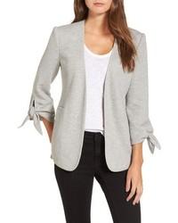 Gibson tie sleeve knit blazer medium 6754672