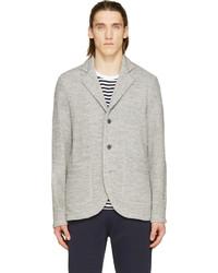 Nanamica grey knit club jacket medium 242586