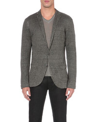 John Varvatos Single Breasted Knitted Jacket