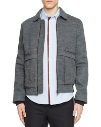 Carven Knit Bomber Jacket