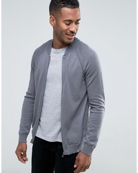 United colors of knitted bomber in easy care medium 3726714