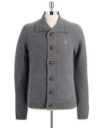 Original Penguin Wool Knit Cardigan