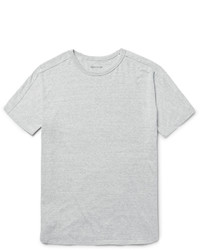 Grey Knit Crew-neck T-shirt