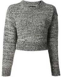 Proenza Schouler Cropped Knit Sweater