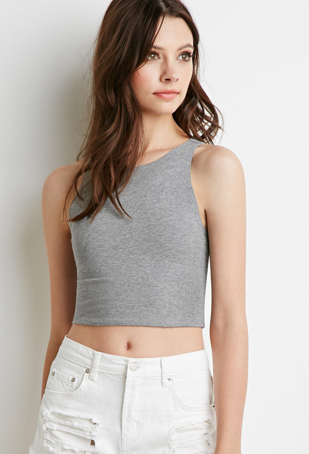 bb1633fa6c72d ... Forever 21 Classic Crop Top ...