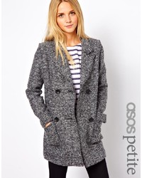 Asos Petite Double Breasted Coat