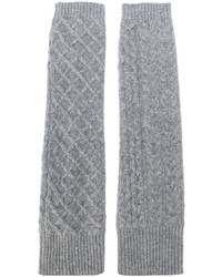 Pringle Of Scotland Cable Knit Gloves