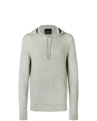 Roberto Collina Knitted Hooded Sweater
