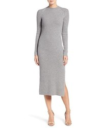 Ag reign merino wool cashmere sweater midi dress medium 874336