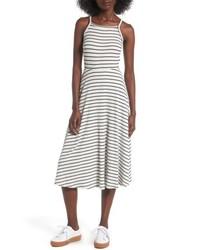 High neck knit midi dress medium 4913967