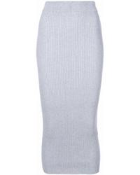 Knitted midi skirt medium 6993415