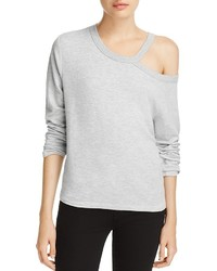 Rag & Bone Sky Cutout Off The Shoulder Tee