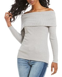 Buffalo David Bitton Tori Off The Shoulder Knit Top