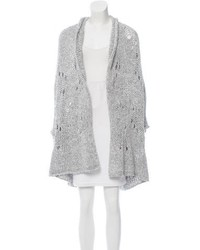 Vivienne Westwood Anglomania Open Knit Longline Cardigan