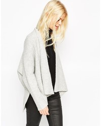 Asos Collection Chunky Cardi In Cutabout Rib