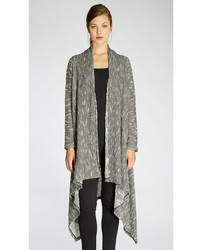 Bobeau Textured Waterfall Duster