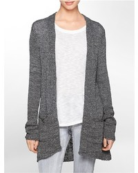 Calvin Klein Knit Open Long Cardigan