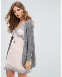 Only Emma Long Knt Open Cardigan