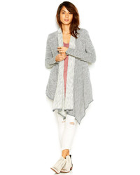 Free People In The Loop Long Sleeve Heathered Cardigan