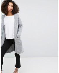 Monki Longline Knitted Cardigan