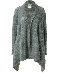 Michael Kors Michl Kors Mohair Blend Cable Knit Open Cardigan
