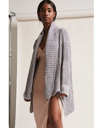 Forever 21 Open Front High Low Cardigan
