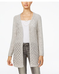 American Rag Open Knit Lace Up Cardigan Only At Macys