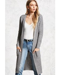 Forever 21 Patch Pocket Duster Cardigan