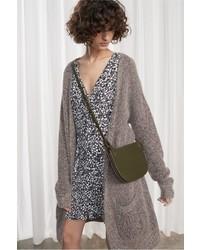 Patsy melange knit oversized cardigan medium 5422852