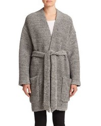 Set Knit Kimono Jacket