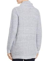 Aqua Shawl Collar Cardigan 100%