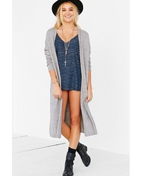 Silence & Noise Silence Noise Open Front Maxi Cardigan