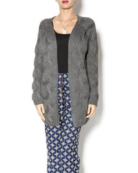 Sugarmint Charcoal Heavy Cardigan